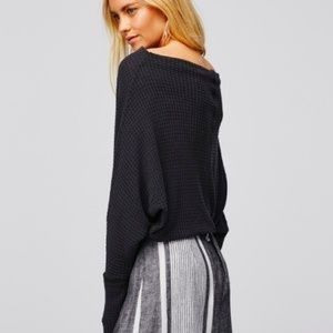 Free People | 'Mercury'  Slouchy Thermal Top
